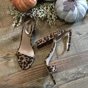 The Cats Out If The Bag- Leopard Print Heels
